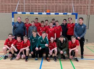 Die C-Jugend der Handballfreunde spielte eine tolle Saison - Lohn der Mühen war schließlich der Meistertitel in der Bezirksklasse. (Foto: HF)