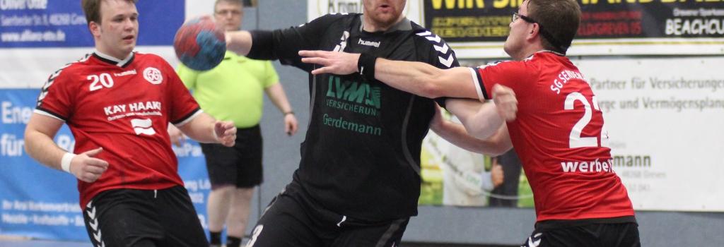 Thomas Menke gewöhnte sich zuletzt nach langer Verletzungspause in der zweiten Mannschaft wieder ans Hallenparkett. Nun gibt er nach zweijähriger Abstinenz sein Comeback in der HF-Ersten. (Foto: Heidrun Riese)
