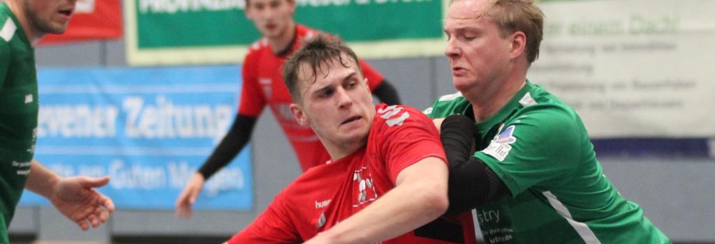 Max Altenburger hatte sich mit den Handballfreunden eine deutliche Führung herausgespielt, doch die schmolz schnell zusammen. (Foto: Heidrun Riese)